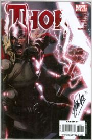 Thor #600 Variant Dynamic Forces Signed Stan Lee DF COA Ltd 9 Marvel comic book